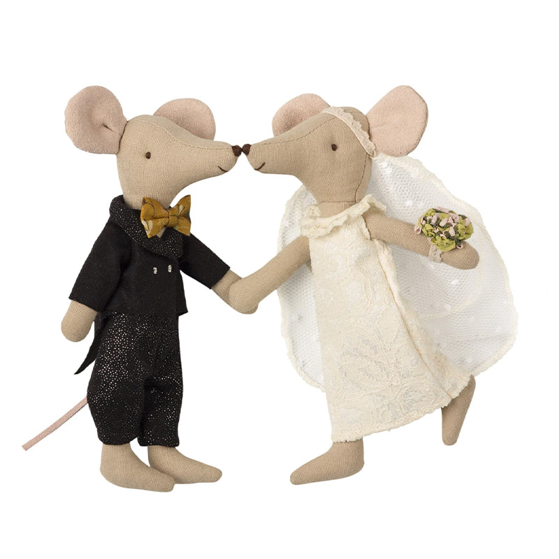 Maileg Bride and Groom Mice - eku Box curated gifts