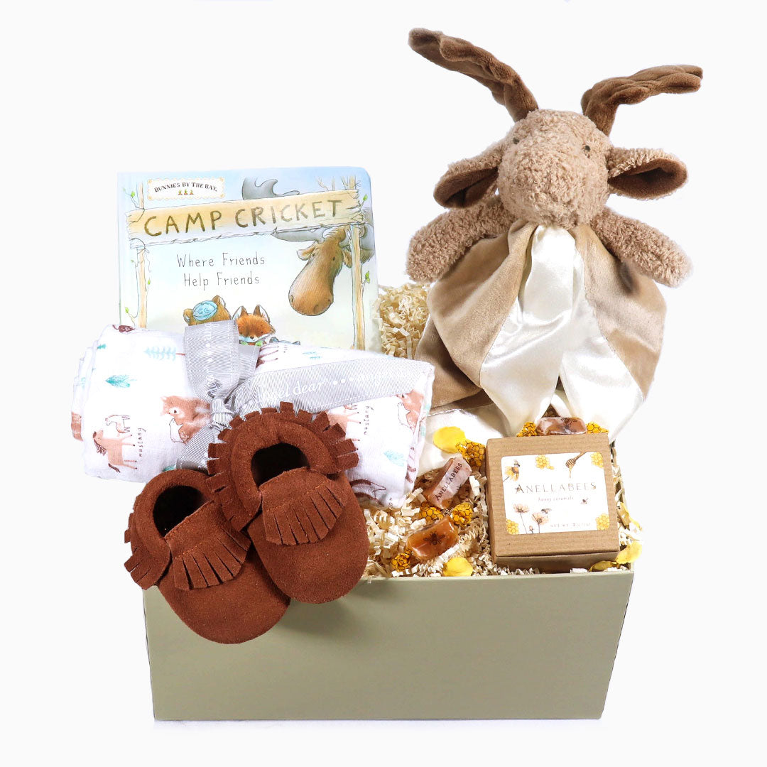 Bruce the Moose Baby Gift Box - eku Box