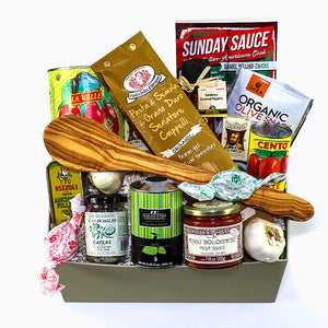 Clemenza's stir the sauce gift box  with Bologanese Sauce- eku box