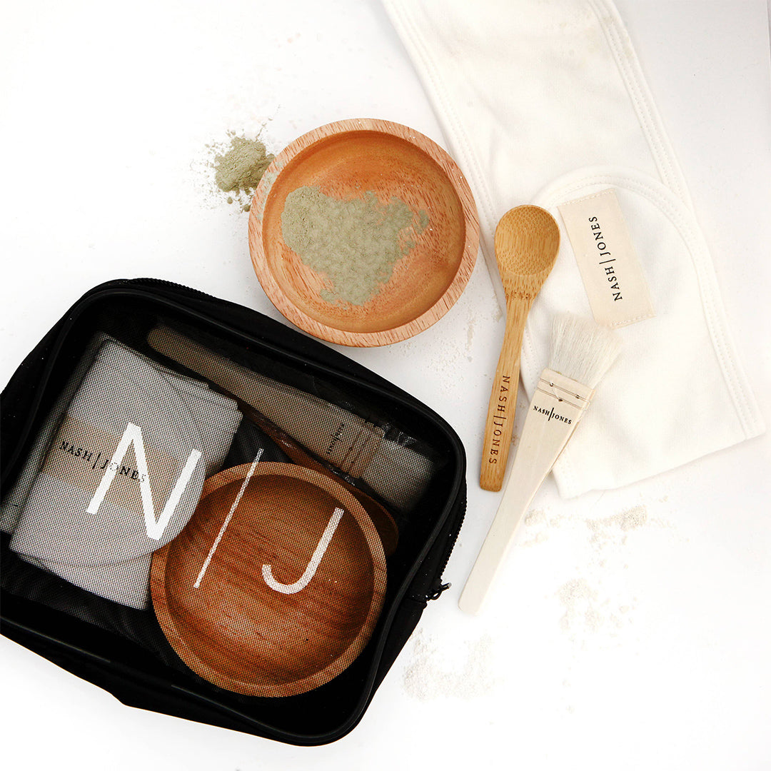 facial clay facial kit within our Friday Night Facial kit - ekuBOX Curated gift boxes