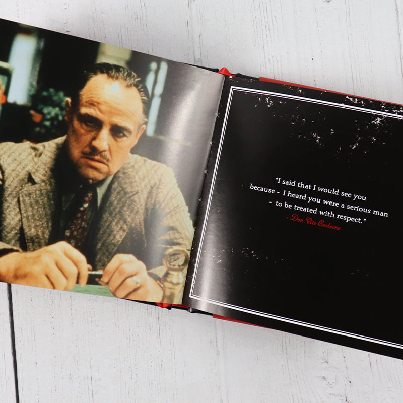 Godfather Quotes book - eku Box