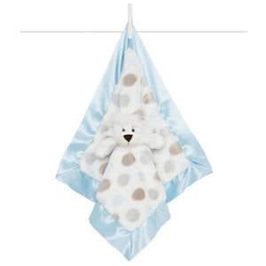 little giraffe little blanky lovey in blue
