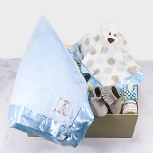Luxe baby boy gift box - ekubox