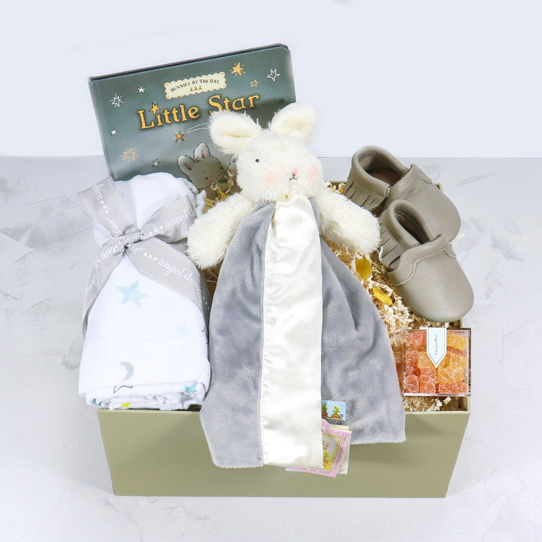 Welcome Baby in neutral grey - eku Box