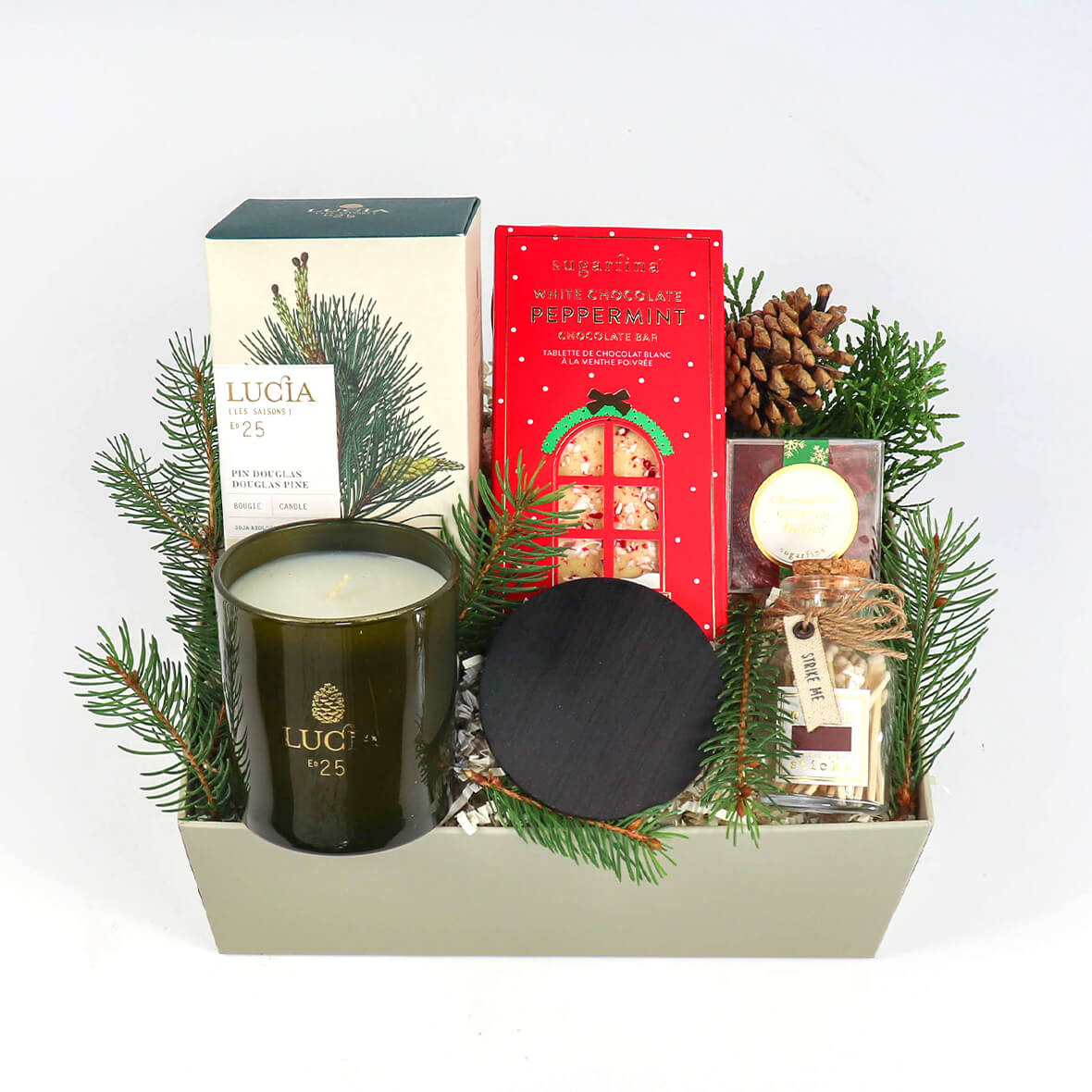 Merry and Bright - holiday box-  -ekuBOX gift boxes