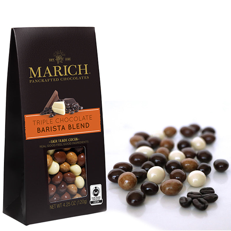Marich Barista Espresso Beans coated in chocolate - eku Box