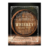 whiskey road trip hard cover - eku box