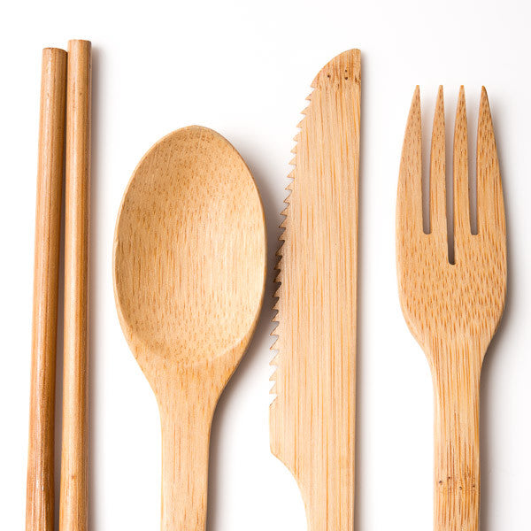 Bamboo Cutlery Set No.2