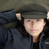 ANCHOR CAP - OLIVE WOOL