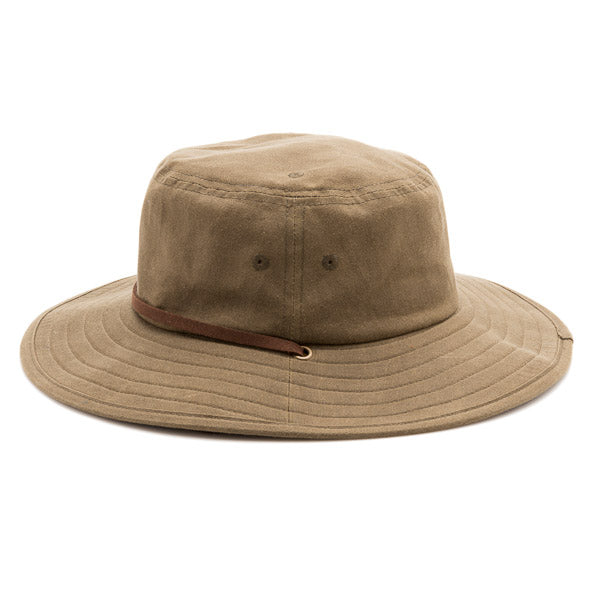 Camp Hat - Olive Waxed