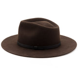 Dylan Fedora - Dark Brown