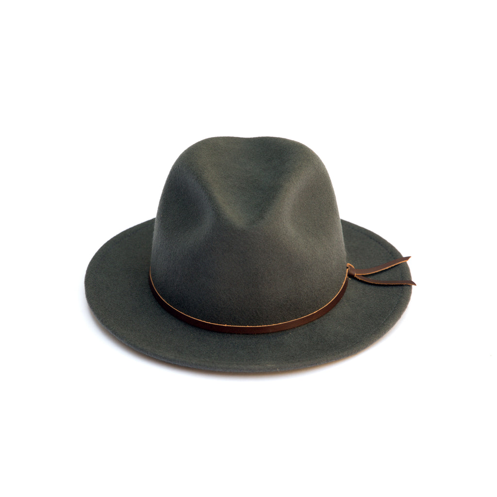 Luke Fedora - Grey