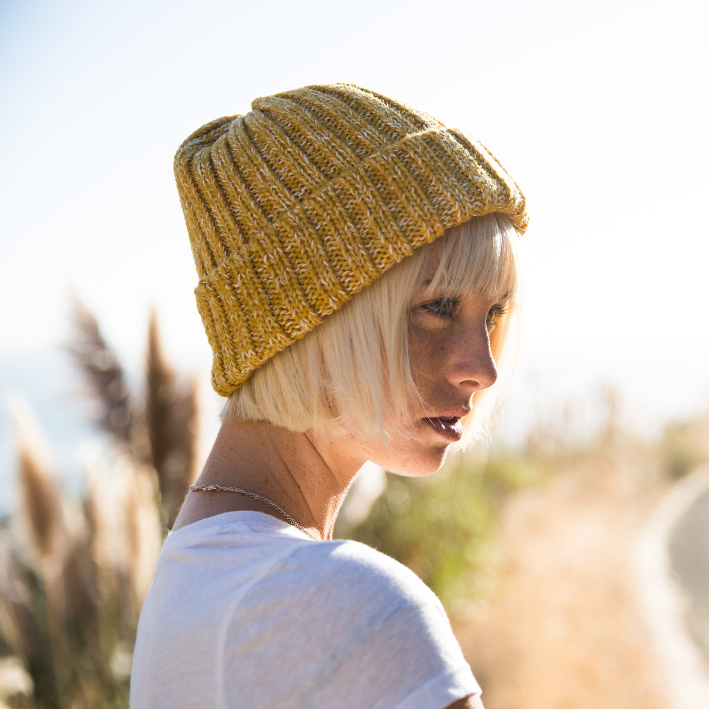 Yurt Beanie - Yellow
