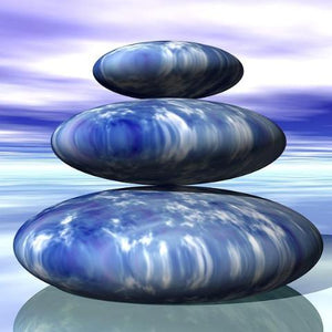 Personal Kabbalah Infusion with zen rocks