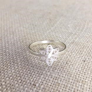 Jodie Ring - Six Petals Flower Silver