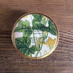 Phosphenes Travel Tin Candle