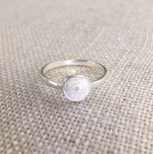 Jodie Circle Ring - Silver