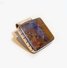 Plume Agate Money Clip