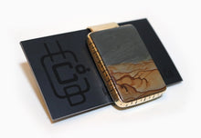 Money Clip - Cripple Creek Picture Jasper - Rectangle