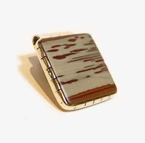 Owyhee Red Jasper Money Clip