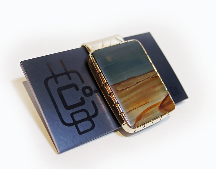 Picture Jasper Money Clip
