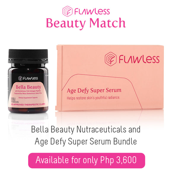 Age Defy Super Serum + Bella Beauty Nutraceuticals