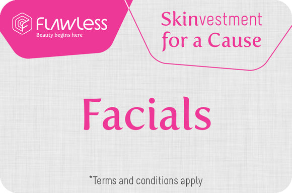 Facial - Skinvestment for a Cause