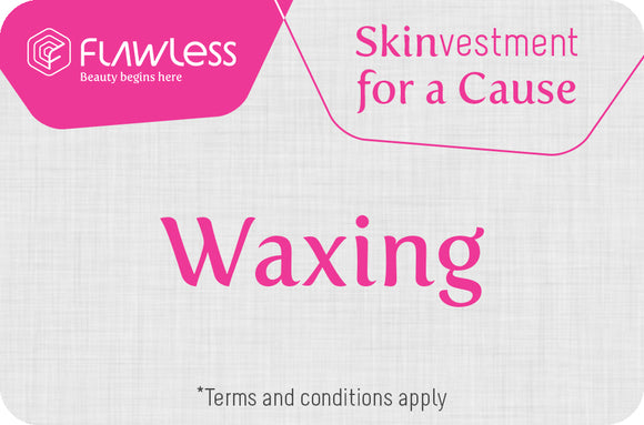Waxing - Skinvestment for a Cause