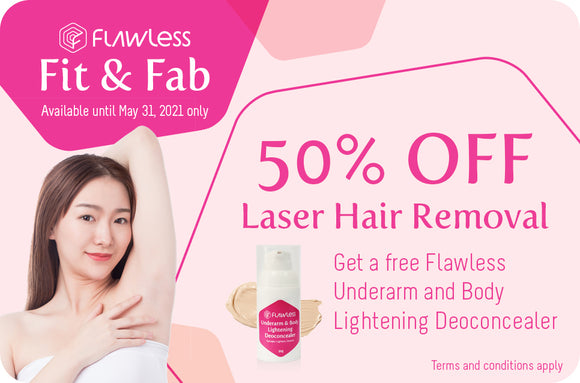 50% off Diode Laser Hair Removal