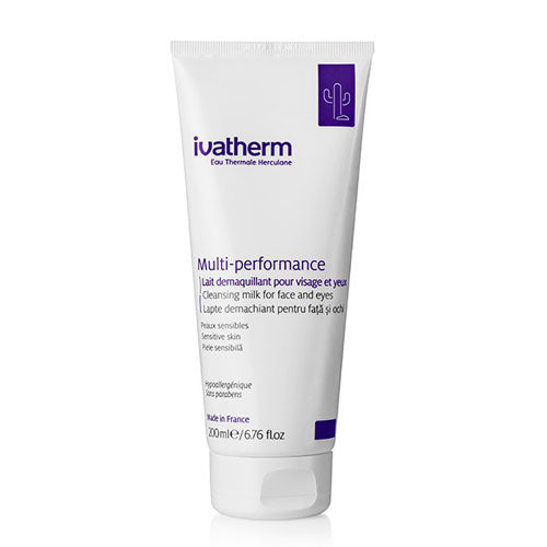 Ivatherm Multi-performance Cleansing Milk for Face and Eyes