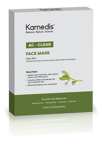 Kamedis AC-Clear Face Mask 5s (Box)