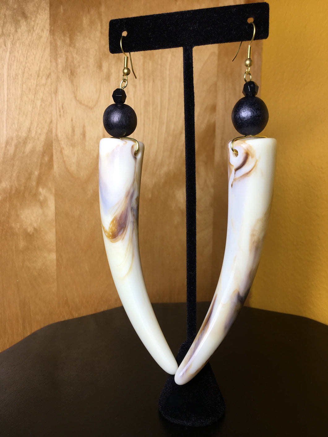 Ivory Tusk Earrings
