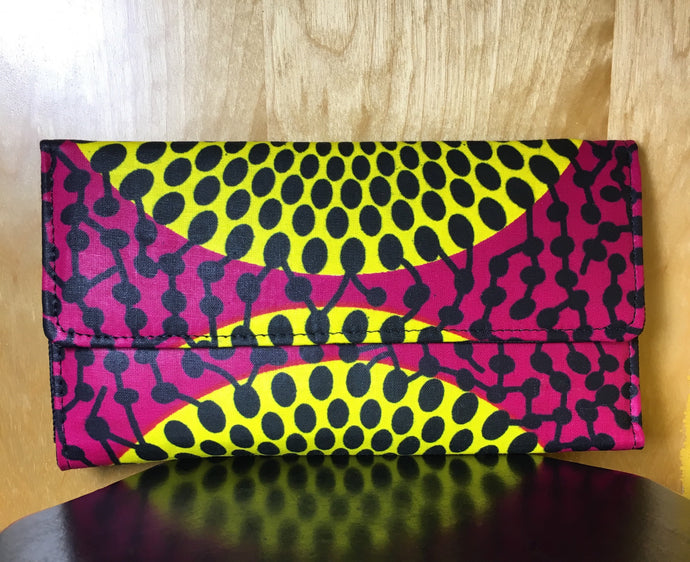African Fabric Wallet