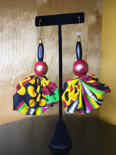 Load image into Gallery viewer, African Fabric Earrings