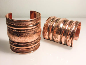 Copper Medium Cuff