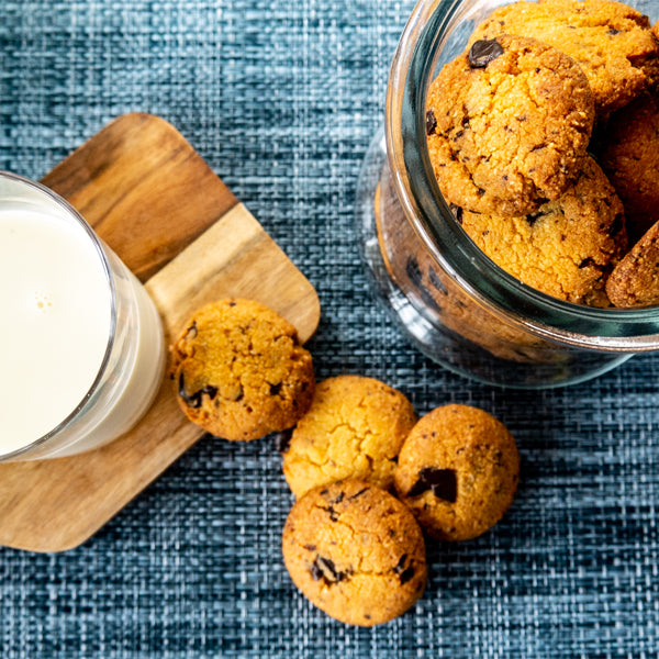 The Best Mini Choc Chip Keto Cookies