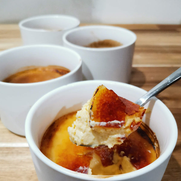 Low Carb White Chocolate Creme Brulee