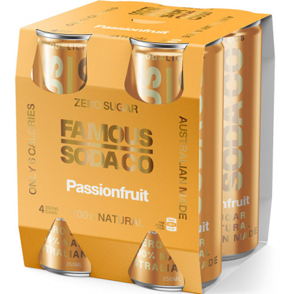Passionfruit Can 4x 250ml