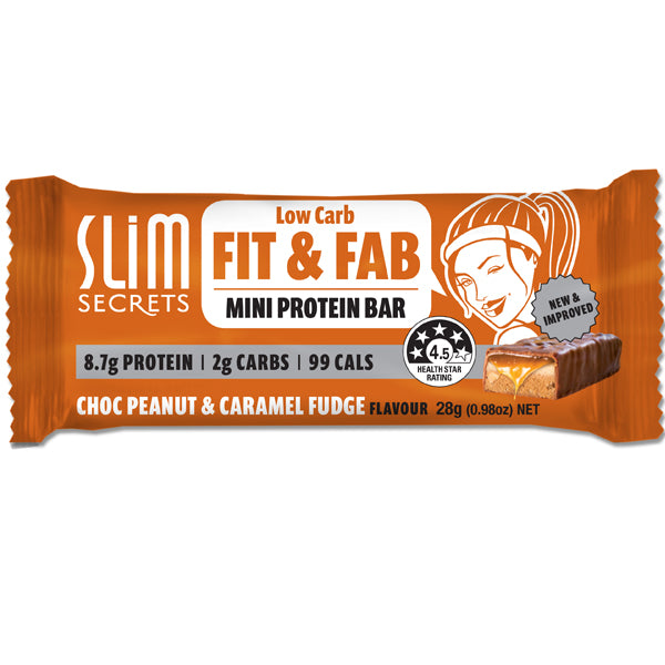 Fit & Fab Peanut Caramel Fudge | 28g
