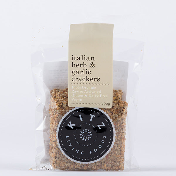 Italian Herb and Garlic Crackers | 100g