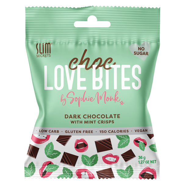 Dark Chocolate with Mint Crisp | 36g