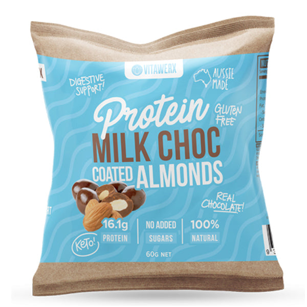 Protein Milk Chocolate Coated Almonds