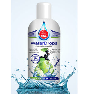 Apple & Blackcurrant Water Drops | 40ml