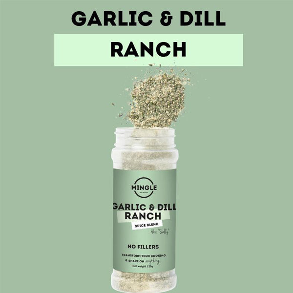 Garlic and Dill- Ranch 120g