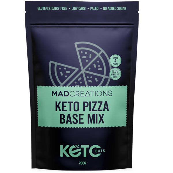 Mad Creations Keto Pizza Base Mix