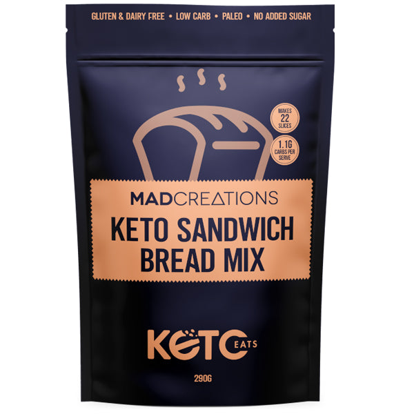 Mad Creations Keto Sandwich Bread Mix
