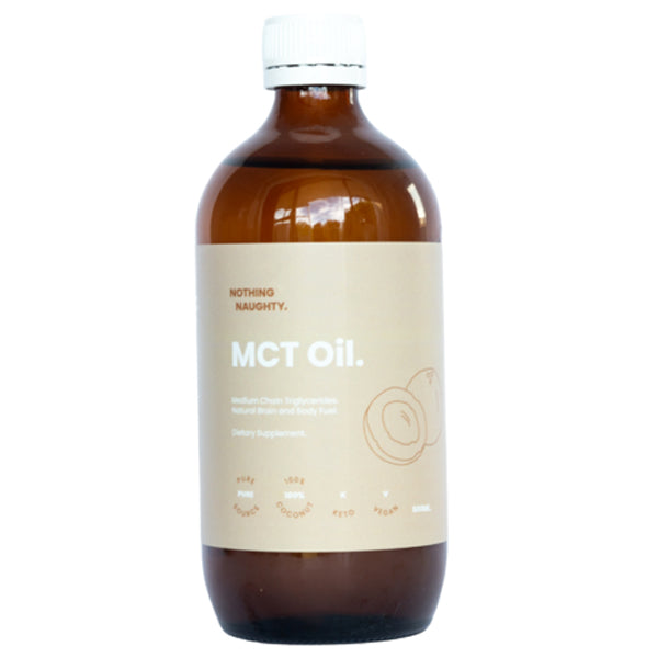 MCT Oil Pure Coconut 500ml