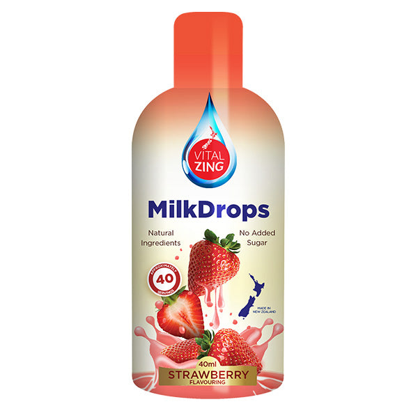 Strawberry Milk Drops | 40ml