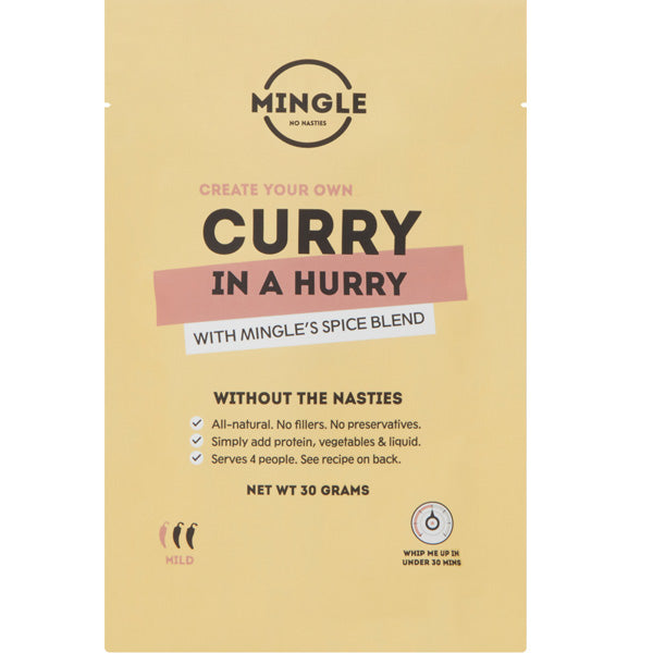 Curry In A Hurry 1x 30g Sachet