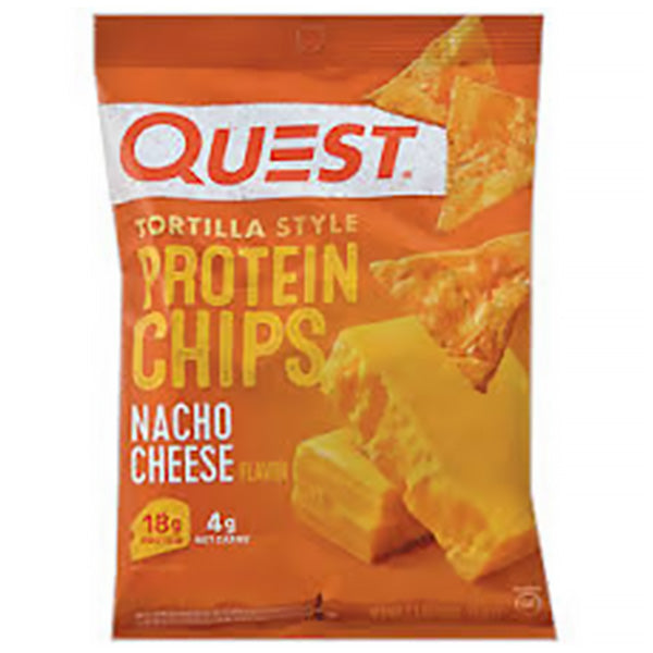 Protein Style Nacho Cheese Chips | 32g